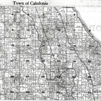 1915 Caledonia Plat Map