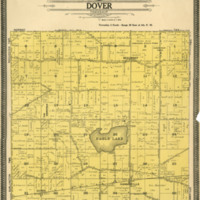 1908 Dover Plat Map