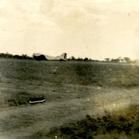 A field with a runway