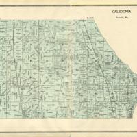 1899 Caledonia Plat Map