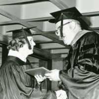 UW-Parkside's first commencement