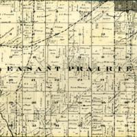1873 Pleasant Prairie Plat Map