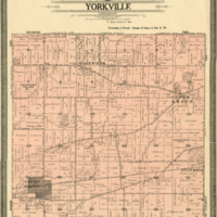 1908 Yorkville Plat Map