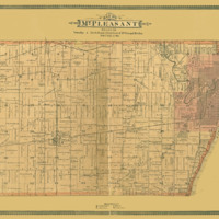 1887 Mount Pleasant Plat Map