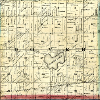 1873 Dover Plat Map