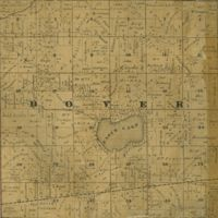 1858 Dover Plat Map