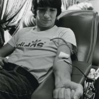 Man donates blood