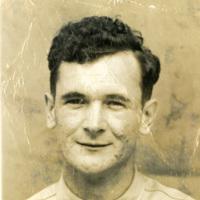 A headshot of a man