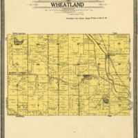 1908 Wheatland Plat Map