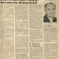 Parkside Collegian, Volume 1, issue 10, March 23, 1970