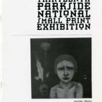 13th Parkside National Small Print Exhibition program cover