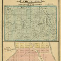 1887 Wheatland Plat Map