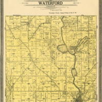 1908 Waterford Plat Map