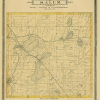 1887 Salem Plat Map