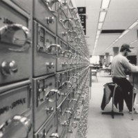 Card catalog in the UW-Parkside library