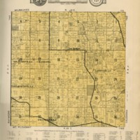 1934 Caledonia Plat Map