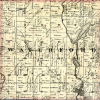 1873 Waterford Plat Map