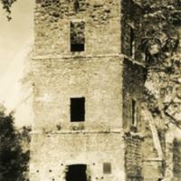 A brick tower