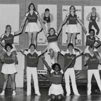 Ranger cheerleader squad