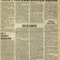 Parkside Collegian, Volume 1, issue 8, February 23, 1970