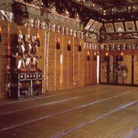 Interior of building at Nikkō Tōshōgū