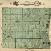 1934 Somers Plat Map