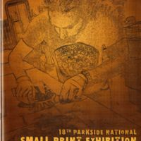 18th Parkside National Small Print Exhibition program cover