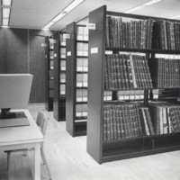 West room of the UW-Parkside archives