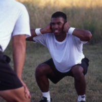 UW-Parkside football training