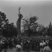 Unveiling of Soldiers and Sailors Monument, Library Park