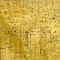 1858 Yorkville Plat Map