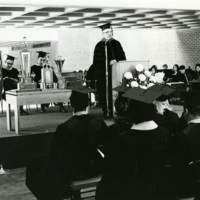 Irvin G. Wyllie at 1970 Commencement