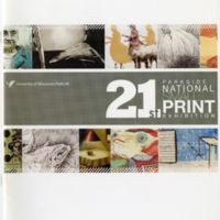 21st Parkside National Small Print Exhibition program cover
