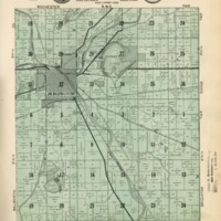 1934 Burlington Plat Map
