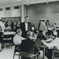 Racine Lounge, student cafeteria