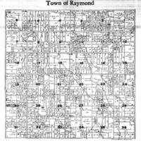 1915 Raymond Plat Map