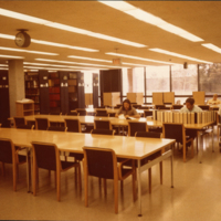 Tallent Hall Library Reading Area