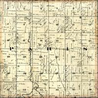 1873 Paris Plat Map