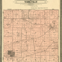 1934 Yorkville Plat Map