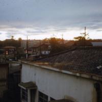 Rooftops at dawn