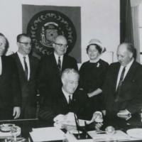 Signing of Senate Bill 38