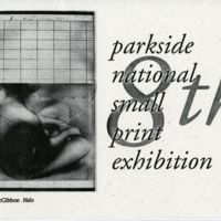 8th Parkside National Small Print Exhibition program cover