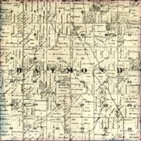 1873 Raymond Plat Map