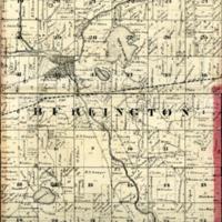 1873 Burlington Plat Map