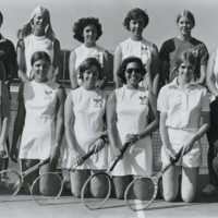 UW-Parkside women's tennis team