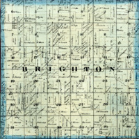 1873 Brighton Plat Map