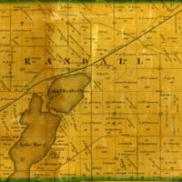 1861 Randall Plat Map