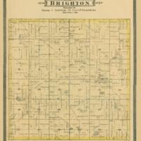 1887 Brighton Plat Map
