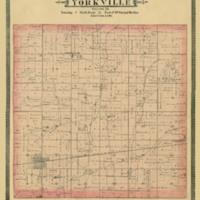 1887 Yorkville Plat Map