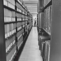 Archivist Nick Burckel